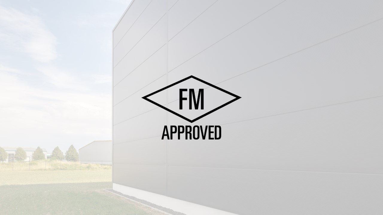 Isopan FM approval pir sandwich panels